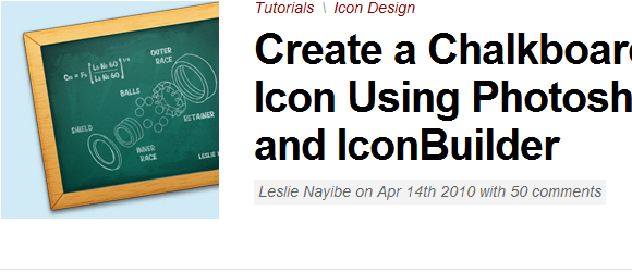 Photoshop Icon Tutorials