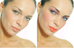 Photoshop Tutorial: Applying Makeup on Raw Portraits