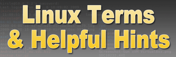 Linux Terms