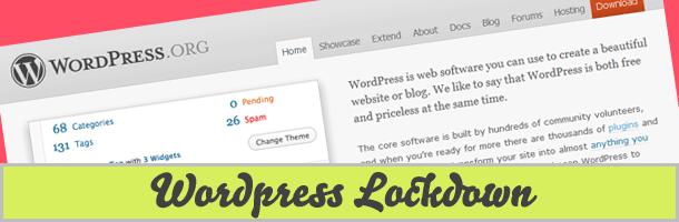 wordpresslockdown