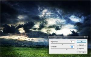 Light Rays effect on Photoshop