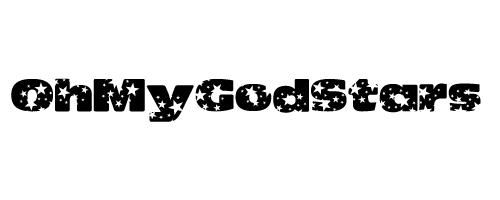 http://www.dafont.com/oh-my-god-stars.font