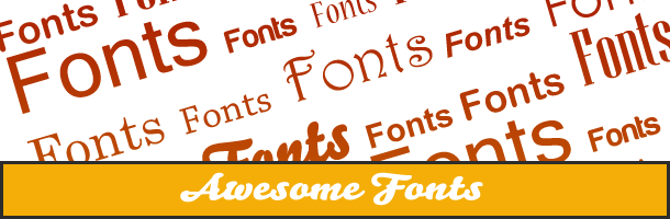 awesomefonts