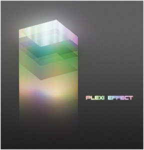 Abstract 3D Plexi Glass Effect in Photoshop