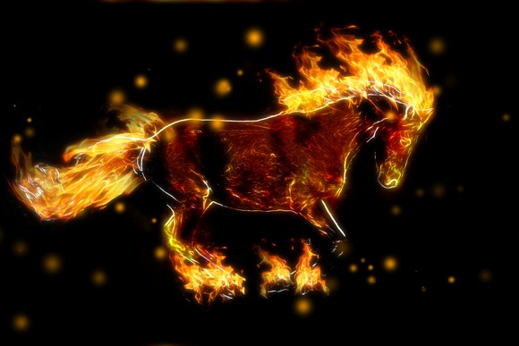 Creating a Fire Horse | Tech King