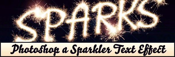 Easily Create a Great Looking Sparkler Effect in Photoshop
