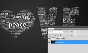 Creating a Typographic Artwork in Photoshop