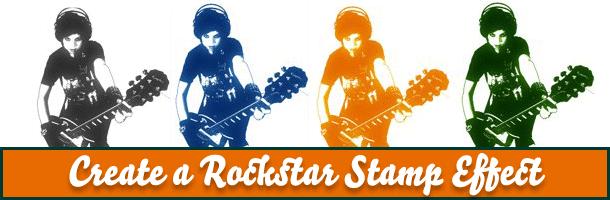 Rockstar Stamp Effect