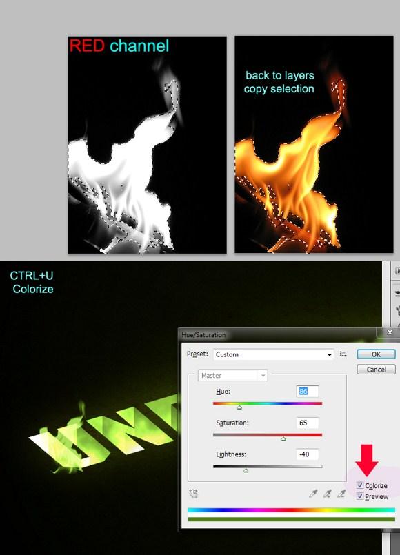 3D Text Effect: Underworld