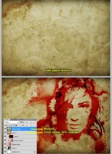 Creating Bleeding Photo Effect