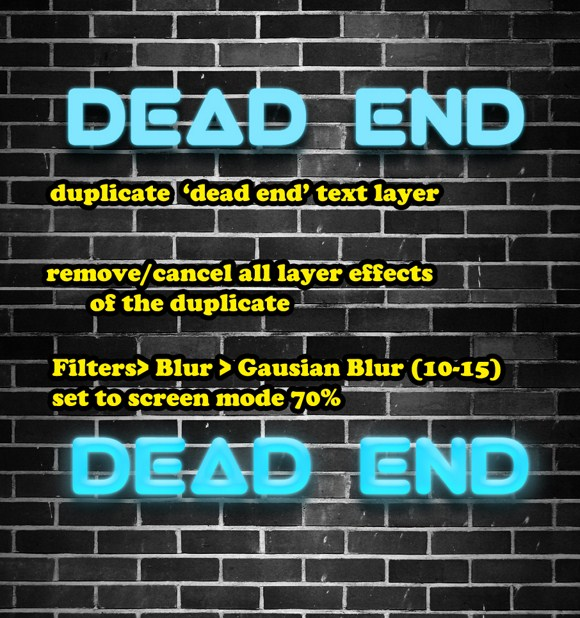Dark Spooky Dead End Composition