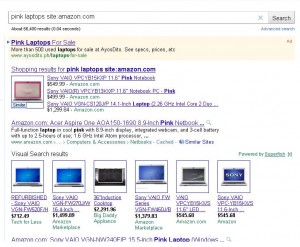 pink laptops amazon