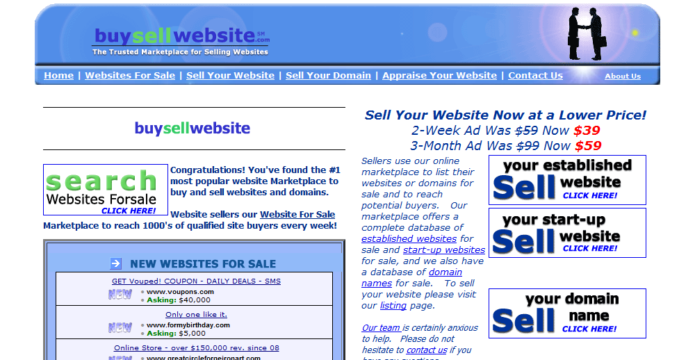 Places to buy and sell websites | Tech King