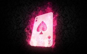 Creating a Realistic Gambit's Flaming Playing Card