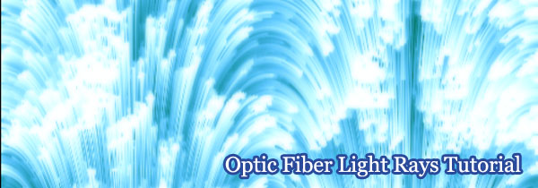 Stunning Optic Fiber Light Rays Tutorial